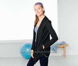 Толстовка с капюшоном и карманами серии актив от Tchibo германия р Л50-52