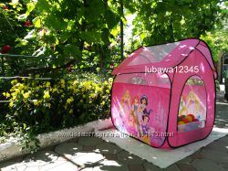 Суперские палатки для девочек и мальчиков с героями мультиков