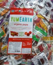 Органические леденцы YummyEarth поштучно и оптом