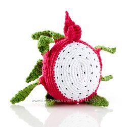 Игрушка погремушка Питахайя, или драконий фрукт