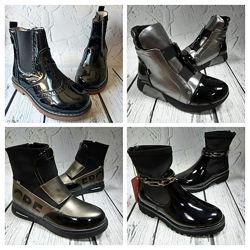 Демисезонные сапожки, ботиночки, сникерсы  в наличии 31-38р.