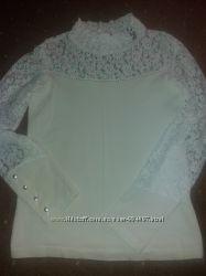 Продам школьные блузки  Турция на рост134- 152