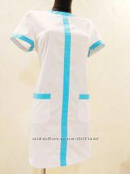 Халат платье медицинский 42-54 размеры