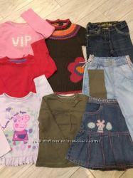 Пакет вещей для девочки 2-3 года. 98 см