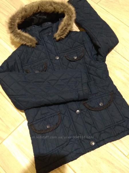 Демисезонная курточка на 6-7-8лет