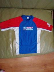 Спортивная или для плаванья футболка на 6-7 лет рост 110-122