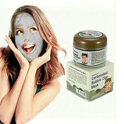 Очищающая пузырьковая маска carbonated bubbled clay mask