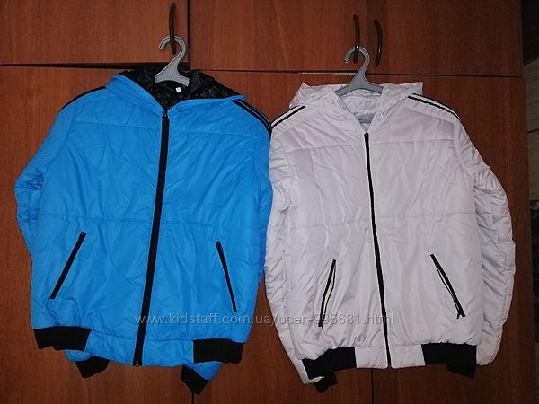 Демисезонные тёплые стеганные куртки р-р С-М