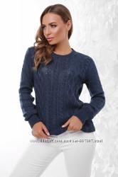 Стильный женский свитер 158