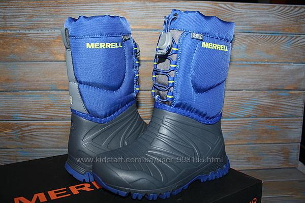 Детские зимние сапожки Merrell Snow Quest Lite Waterproof Snow Boot