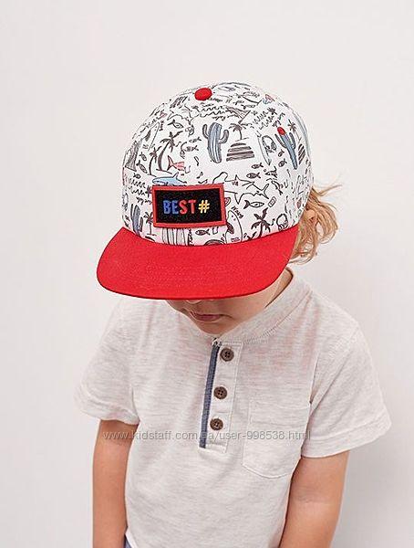 Фулкеп для мальчика стильная летняя кепка