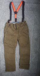Супер стильные штаны брюки с подтяжками next 2-3г