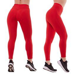 Лосины для фитнеса, красные