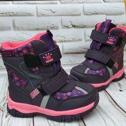 Зимние термо ботинки для девочек