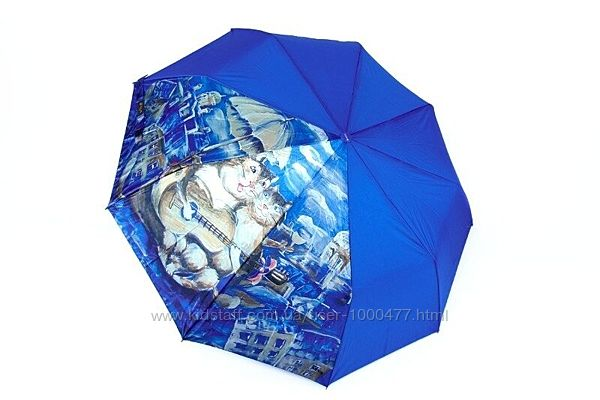 Авторский шикарный женский зонт полуавтомат бренд Viva