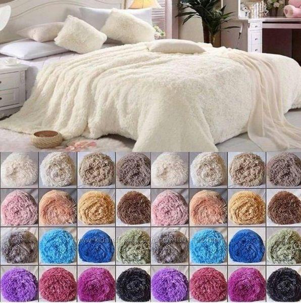 Пледи Травка, 50 кольорів, Євро розмір