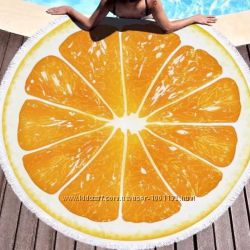 Пляжні рушники Towel новинки, круглі 1. 5 м діаметр