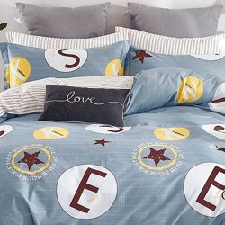 Подростковое полуторное постельное белье Viluta сатин 407 в наличии