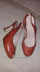 Кожаные босоножки туфли kiomi германия 24 см размер 37