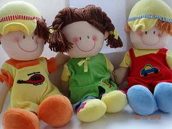 Мягкая кукла ТМ Солнышко новая в упаковке 40 см