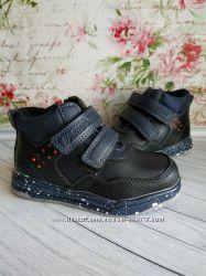 Качественные демисезонные ботинки для мальчиков 26-30р.