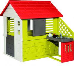 Домик Smoby Toys Солнечный с летней кухней 810713