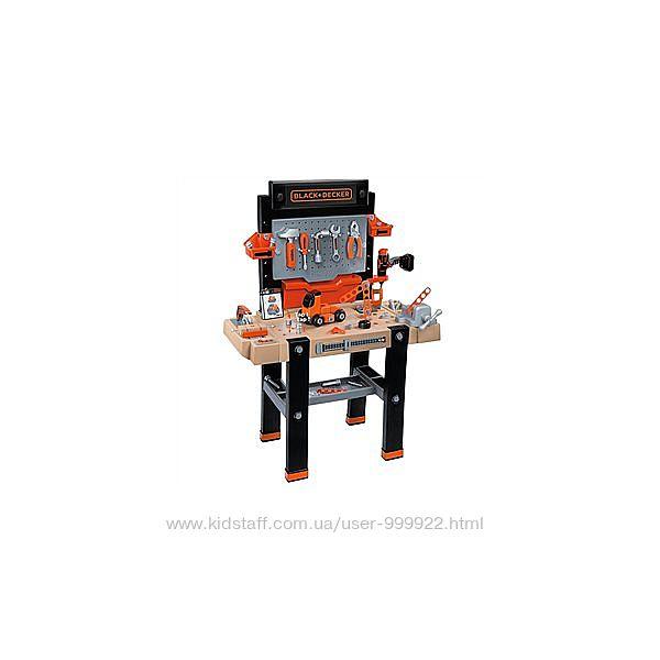 Игровой набор Smoby Toys BlackDecker Интерактивная мастерская 360702