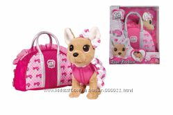 Собачка CCL Чихуахуа. Розовая мода с сумочкой, 5893346