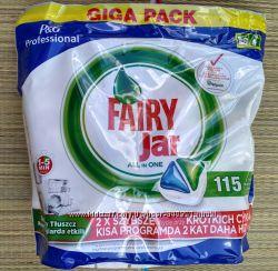 Таблетки для посудомоечной машины Fairy 115 шт