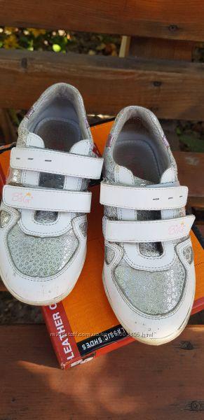 Детские туфли кожанные