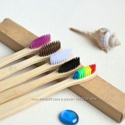 Зубная щетка Бамбуковая