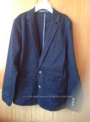 Пиджак Next 10-140 темно-синий