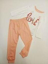 Качественные пижамы из хлопка для детей 2-3 лет