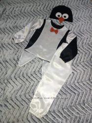 Костюм Пингвин на 4-5 лет