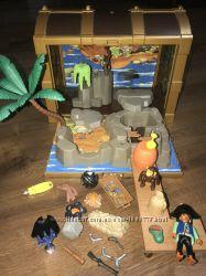 Playmobil Сундук Пират Замок Рыцарь дракон пожарная машина детали запчасти