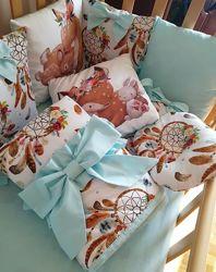 Текстиль в дитяче ліжечко