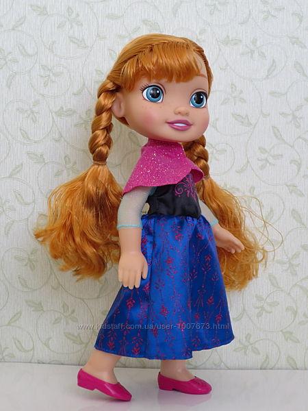 Лялька Анна Холодне Серце, 35см, вітринного зберігання, Jakks Pacific