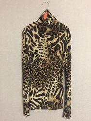 Водолазка леопард