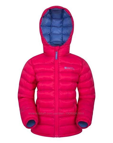 Легкая куртка пуховик mountain warehouse, размер 9-10 лет