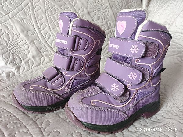 Зимние ботинки b&g, размер 24