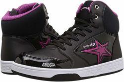 Geox, высокие демисезонные кроссовки, кожзам, размер 41евро. Стелька 26. 5 см.