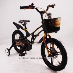 Велосипед 16-GALAXY Black Магниевая рама