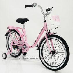 Двухколесный велосипед &ldquoCASPER-20&Prime Pink, Black, Blue