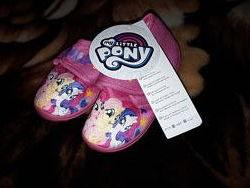 Мокасины, тапочки My little pony на 3-6 лет, Май литл пони.