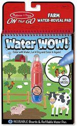 Водная раскраска На ферме Melissa &Doug новая для детей 2-4 лет