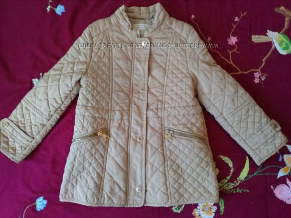 Стеганая демисезонная куртка zara