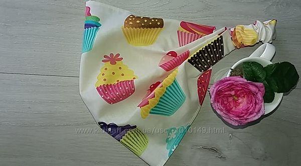 Платочки-повязки для дочек и мам