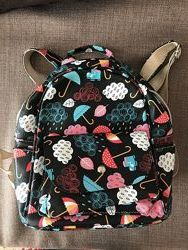 Разноцветный рюкзак в школу / на прогулку / городской