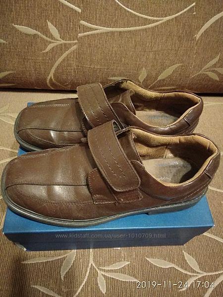 Школьные туфли на липучках Hush Puppies Oberlin 7 US