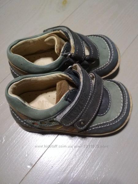 Кожаные туфли Ortopedia, размер 19